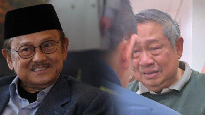 Ekspresi Sedih SBY Saat Jenguk BJ Habibie, Air Mata Nyaris Tumpah, Pandangan Terus ke Arah Habibie