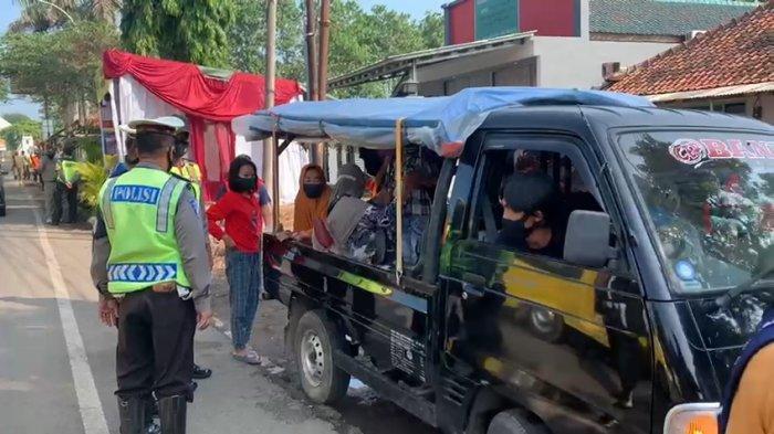 Hari Kelima Penyekatan Larangan Mudik, 885 Kendaraan di Majalengka Diputarbalikkan