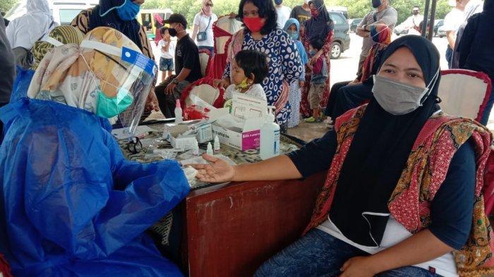 Nah Lho 100 Orang Wisatawan Dinyatakan Reaktif Covid-19 Hasil Rapid Test Saat Masuk Wilayah Jabar