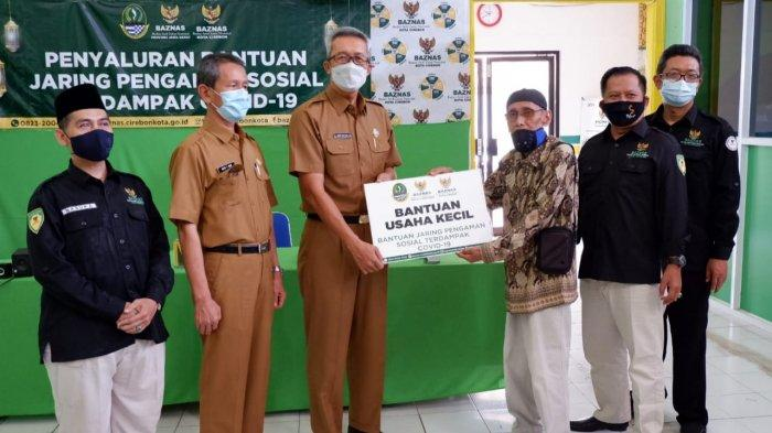 Sekda Ingatkan Penerima Bantuan Baznas Kota Cirebon Tak Konsumtif, Gunakan untuk Modal Usaha