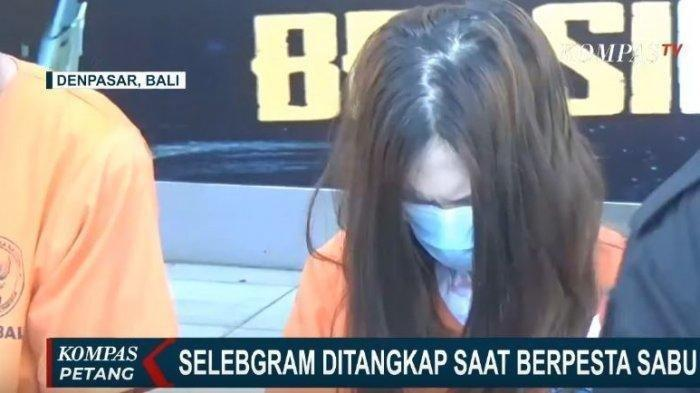Selebgram Cantik Ini Diciduk Polisi Saat Bangun Tidur dengan Pria di Bali karena Kasus Narkoba