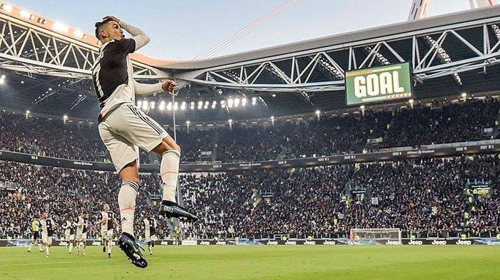 Hasil Liga Italia, Juventus Juara Liga Italia Setelah Kalahkan Sampdoria 2-0 di Stadion Allianz