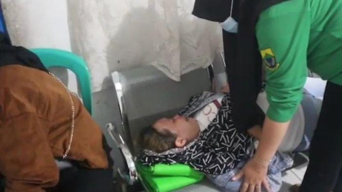 Seorang Ibu Histeris Sambil Telentang di Kursi Setelah Diamankan Satpol PP Cianjur, Ternyata PSK