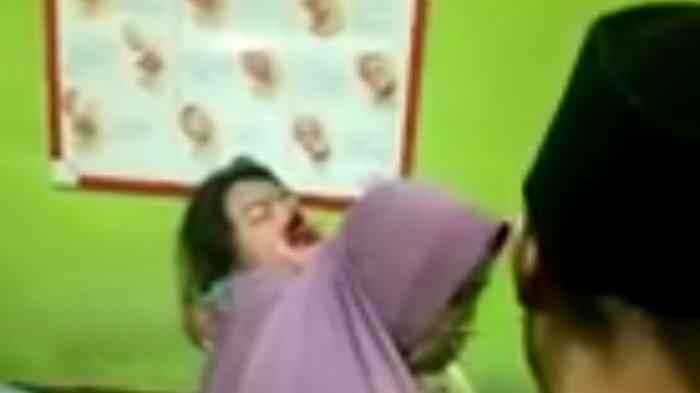 Hidung dan Mulut Wanita di Cianjur Berdarah Terkena Sabetan Golok Saat Dibegal 4 Pria Sekaligus