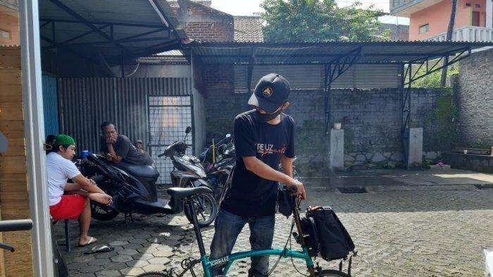 Presiden Jokowi dan Istri Pesan Sepeda Lipat Kreuz Buatan Bandung, Harganya Masih Rahasia