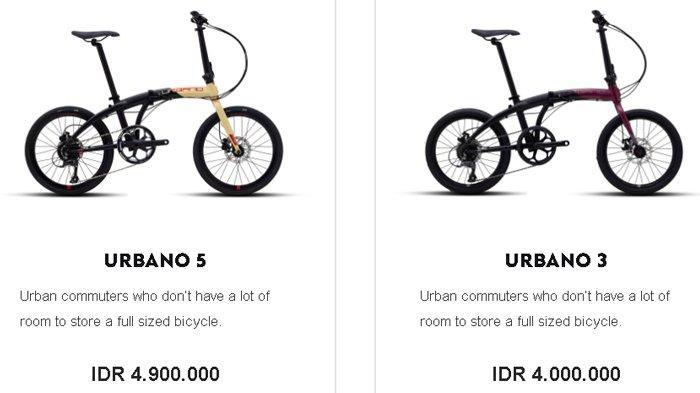 Ini Harga Sepeda Lipat Terbaru Varian Urbano 3 dan 5 dari Polygon, Diklaim Lebih Praktis & Fleksibel