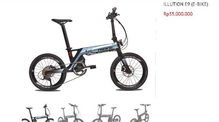 DAFTAR Lengkap Harga Sepeda Urban Merek Pasific Juli 2020, Mulai Rp 3,2 Juta Hingga Rp 35 Juta