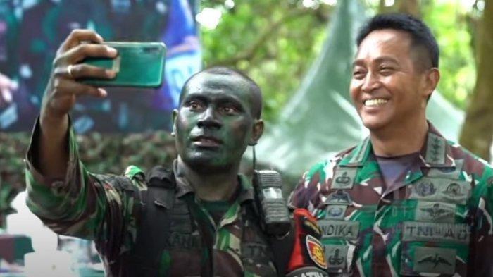 KISAH Tukang Ojek Jadi Anggota TNI Serka Elkana hingga Bisa Selfie dengan Jenderal Andika Perkasa