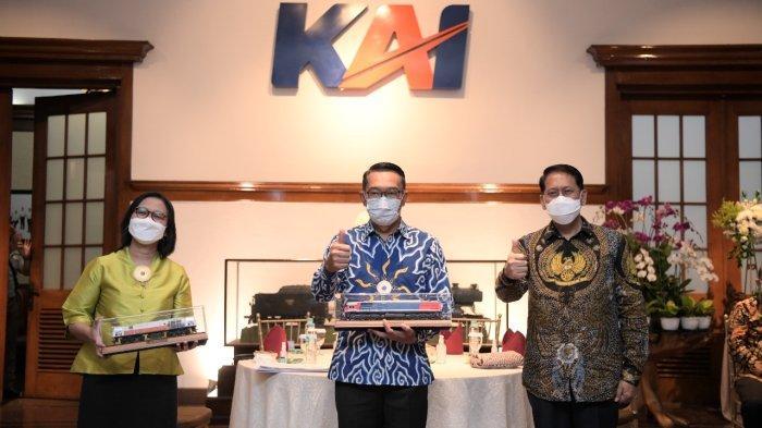 Setelah Bandung-Garut, Ridwan Kamil Ingin Reaktivasi Jalur Kereta Api Bandung-Ciwidey
