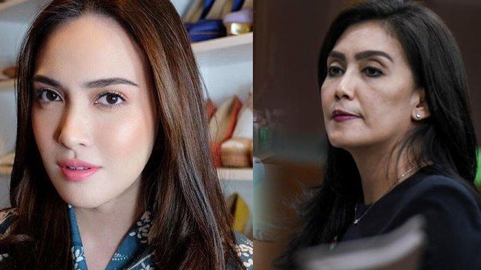 Shandy Aulia Dandan Cantik Full Makeup, Dibilang Jadi Mirip 'Oneng' Rieke Diah Pitaloka, Benarkah?