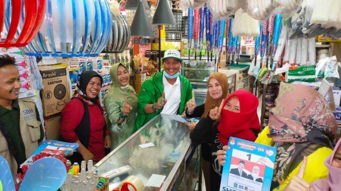 Paslon Sholawat Ingin Percantik Pasar Tradisional di Indramayu, Sebut Harus Jadi Kebanggaan Daerah