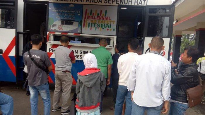Lokasi Layanan Mobil SIM Keliling Kabupaten Majalengka Senin 27 Januari 2020
