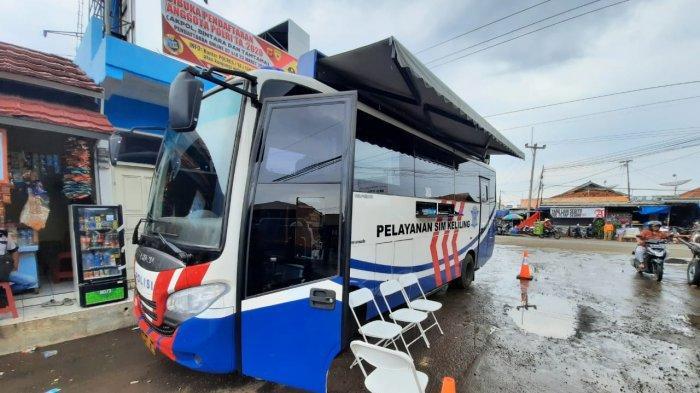 Mobil SIM Keliling Polres Kuningan Hari Ini, Selasa 24 Maret 2020 Ada di Kawasan Terminal Kadugede