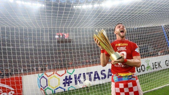 Striker Persija Jakarta Marko Simic Cetak Hattrick Tak Terkejar Sebagai Pemuncak Top Skor Liga 1