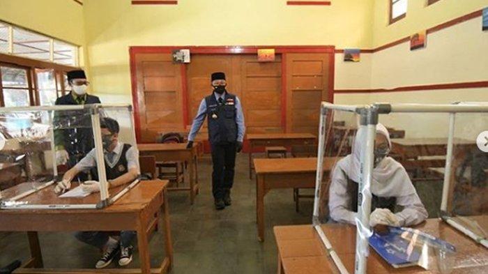 Belajar Tatap Muka SMA/SMK di Kabupaten Garut Gagal Digelar Hari Ini, Fasilitas Sekolah Belum Siap