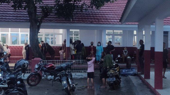 Rumah Terendam Banjir, Ribuan Warga Majalengka Mengungsi, Beberapa Pengungsi Mengeluh Sakit