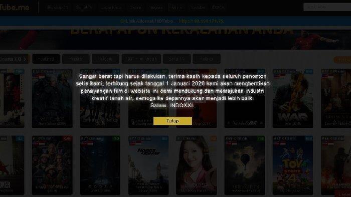 IndoXXI Tamat, Nih Sederet Situs Nonton atau Streaming Film yang Bisa Diakses
