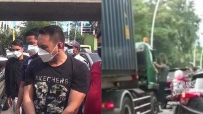 Pengemudi Pajero Sok Jago Aniaya Sopir Truk hingga Viral, Nyalinya Ciut Usai Diringkus Polisi