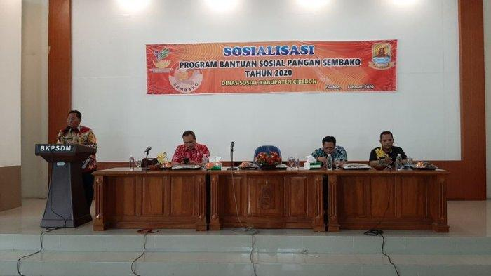 Sekda Cirebon Minta Pendamping Bantuan Sosial Pangan Nontunai Bisa Penuhi Kebutuhan KPM Binaannya