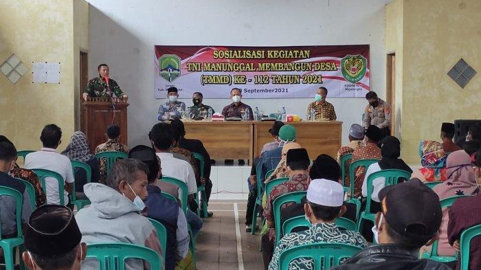 Kodim 0617/Majalengka Harap Gelaran TMMD ke-12 Jadi Ajang Sosialisasi Protokol Kesehatan