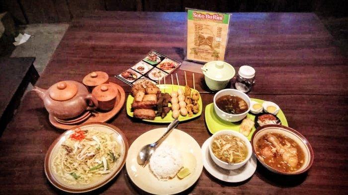 Menyantap Aneka Kuliner khas Jawa yang Lezat dan Murah Meriah di Warung Soto Bu Rini