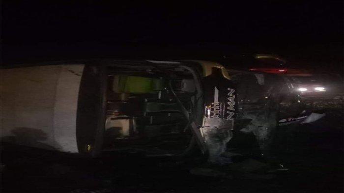 Bus Rombongan Study Tour Tabrak Truk di Tol Cipali KM 181, Tiga Orang Tewas dan Lima Orang Luka-luka