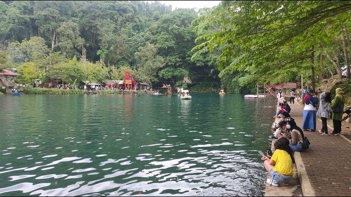 Libur Panjang, Objek Wisata Situ Cipanten Majalengka Pun Ramai Didatangi Wisatawan