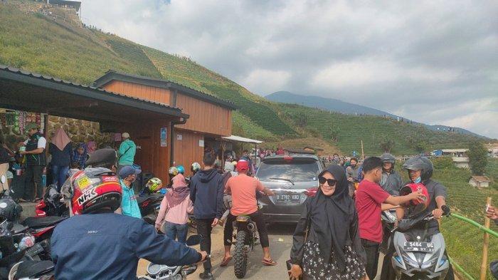 Libur Lebaran Idul Adha 2020, Terasering Panyaweuyan Majalengka Diserbu Wisatawan