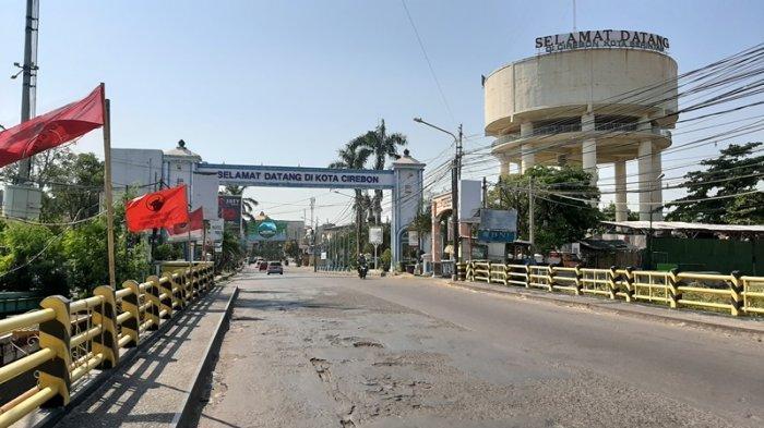 Libur Idul Adha, Sejumlah Ruas Jalan Protokol Kota Cirebon Terpantau Lengang