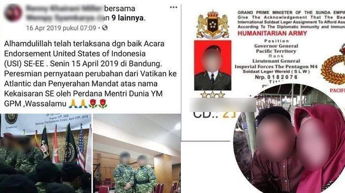 Sempat Ditangani Kodam III Siliwangi pada 2018 Lalu, Sunda Empire Muncul Lagi, Polisi Turun Tangan