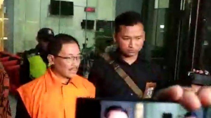 KPK Tahan Sutikno, Tersangka Penyuap Mantan Bupati Cirebon Sunjaya Purwadisastra