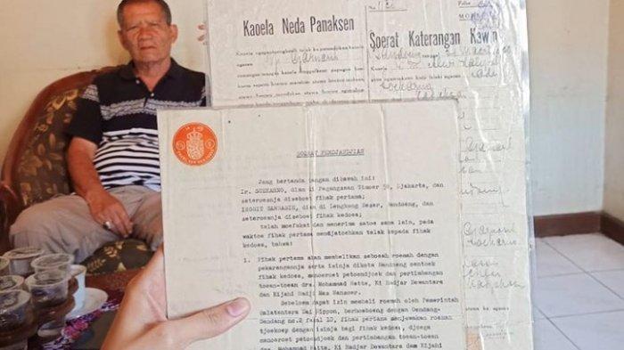 Surat Nikah dan Akta Cerai Soekarno & Inggit Garnasih Diserahkan ke Negara, Kompensasi Belum Diputus