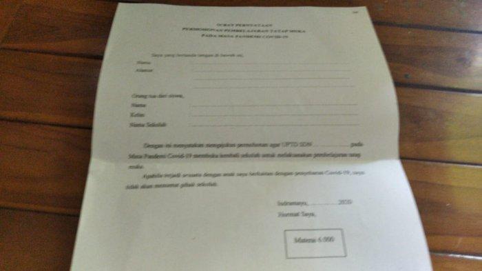 Disdik Indramayu Ancam Tutup Sekolah yang Memaksa Gelar KBM Tatap Muka, Belum Ada Izin Plt Bupati