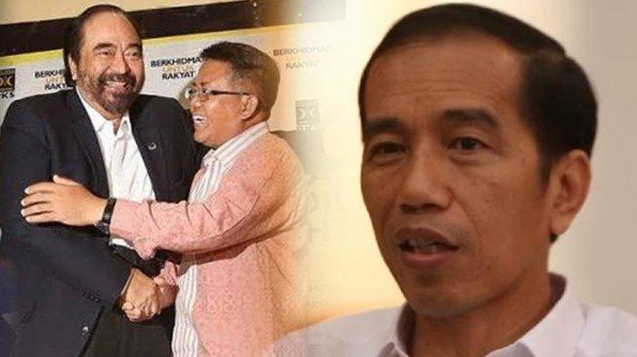 Lihat Surya Paloh dan Sohibul Iman Berpelukan Mesra, Jokowi Bereaksi di IG, Singgung soal Cemburu