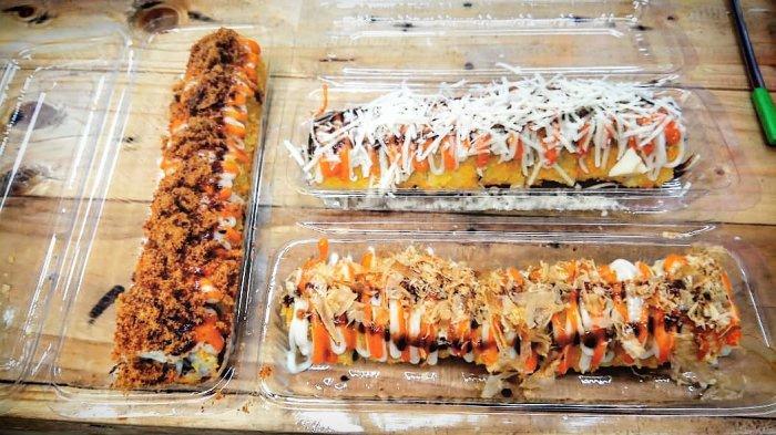 Manjakan Lidah Dengan Aneka Kuliner Sushi Goreng Murah Meriah di Gerobak Sushi Rain