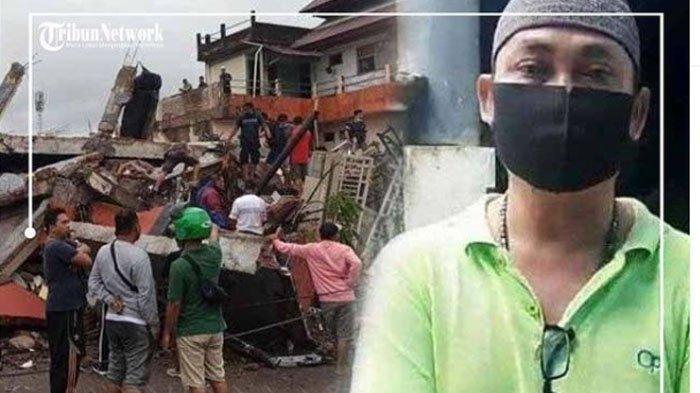Posting Foto dan Tulisan 'Takut Gempa Susulan', Gita Tertimpa Reruntuhan Saat Gempa Susulan Mamuju