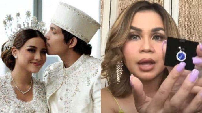 Melaney Ricardo bongkar suvenir pernikahan Atta dan Aurel