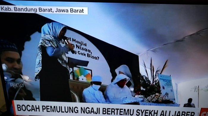 Syekh Ali Jaber Bertemu Ghifari Akbar Pemulung yang Viral di Cimahi, Antarkan Pulang ke Garut