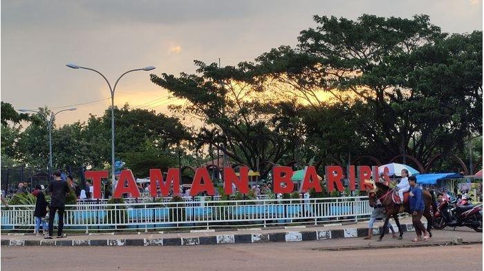 Selain Alun-alun, Taman Baribis Majalengka Jadi Lokasi Favorit Ngabuburit Warga, Ada Air Mancur