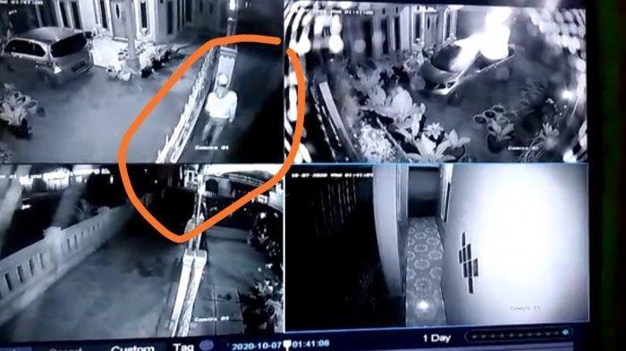 Tanaman Hias Mahal Milik Juwita Digasak Maling, Aksi Si Maling Terekam Jelas di CCTV