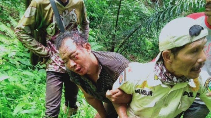 Warga Desa Subang di Kuningan Ramai- ramai Tangkap Maling Sapi di Jalur Hutan Burujulan Cilebak