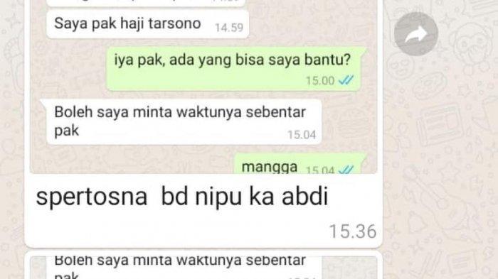 Nama Wakil Bupati Majalengka Dicatut Pelaku Penipuan Via Whatsapp, Modus Tawarkan Bansos
