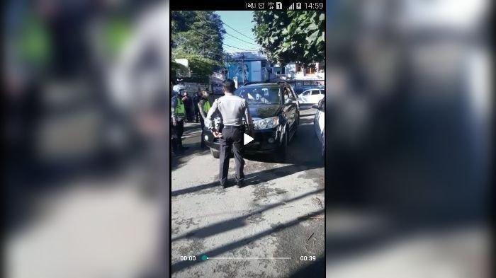 Polisi Pangkat Bripka Ngeyel Gak Mau Pakai Masker, Berani Marahi Petugas PSBB, Kapolda Jabar Jengkel