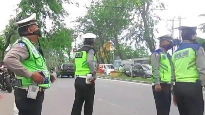 VIDEO VIRAL Polisi di Medan Gelar Razia, tapi Tiba-tiba Bubar Setelah Ada Warga Tanya Mana Izinnya