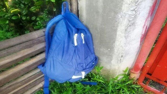 Temukan Tas Biru Tergantung di Pagar, Wanita Ini Dengar Tangisan, Kaget Saat Lihat Isinya
