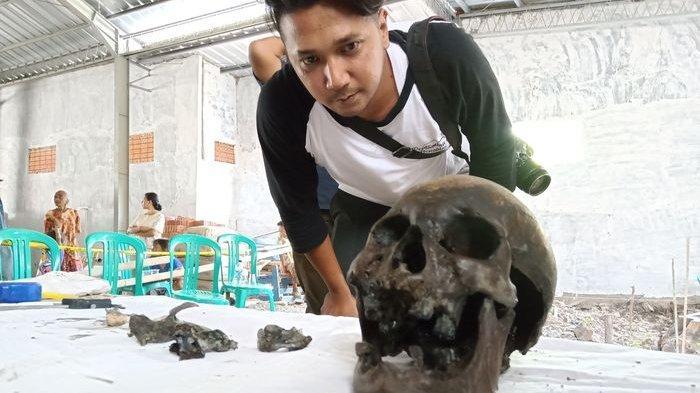 HEBOH Penemuan Tengkorak Manusia Ras Mongoloid Yang Hidup Pada Abad Ke-16 Ditemukan di Indramayu