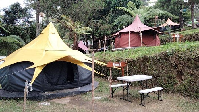 Tenda Bulan Madu Starcamp Ipukan Kuningan Banyak Diminati Pasutri, Ada Juga Fasilitas untuk Camping
