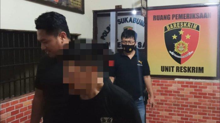Maling Motor di Cisaat Sukabumi Babak Belur Dihajar Massa, Polisi Keluarkan Tembakan Peringatan