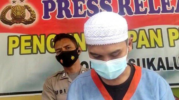 AN (31) seorang pegawai swasta di Desa Sindangraja, Kecamatan Sukaluyu, Cianjur nekat mencuri 12 ribu buah tali pengait bra di tempatnya bekerja.