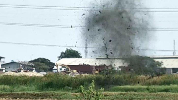BREAKING NEWS - Polrestabes Medan Diguncang Bom, Getaran Dirasakan Hingga Radius Beberapa KM